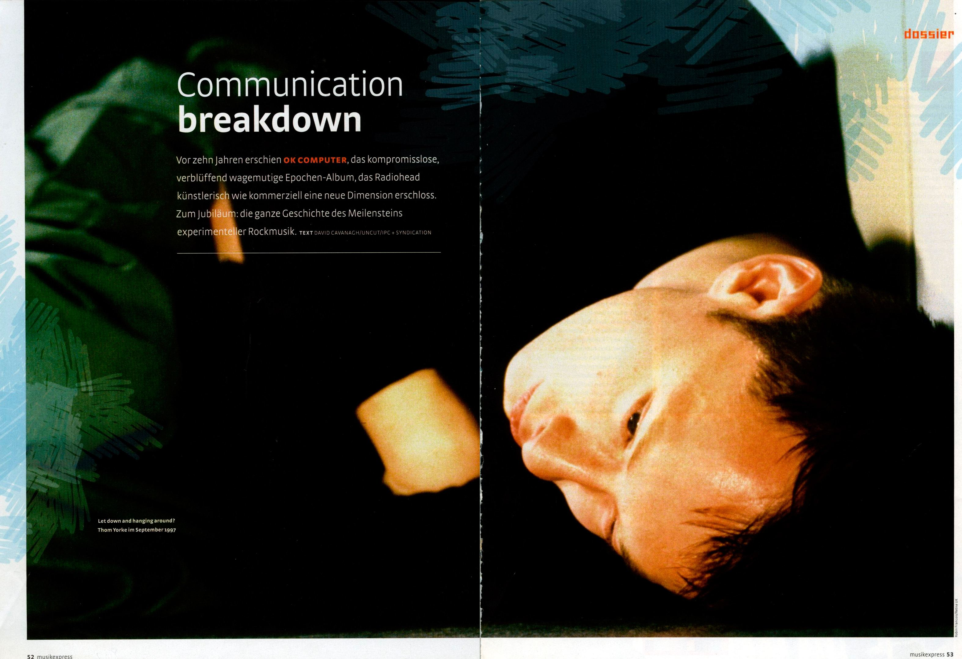 communication breakdown